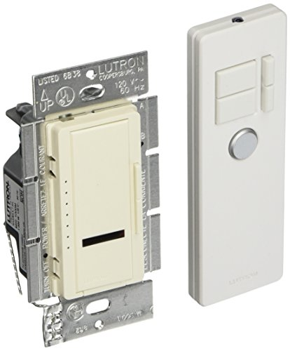- Lutron Maestro 1000-Watt IR Dimmer Switch for Incandescent and Halogen Bulbs, Single-Pole or Multi-Location, with IR Remote Control MIR-1000MT-BI, Biscuit