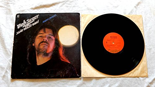 Bob Seger & The Silver Bullet Band LP Night Moves - Capitol Records 1976 - Rock And Roll Never Forgets - Mainstreet - Mary Lou - Sunburst