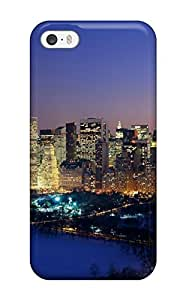 New Shockproof Protection Case Cover For Iphone 5/5s/ New York Christmas Case Cover