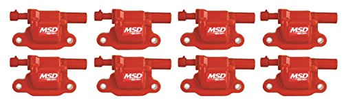 MSD 82658 Ignition Coil, (Pack of 8) (3500 Direct Ignition Coil)