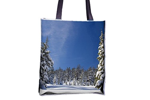 tote bags printed popular tote popular large Nature bag tote large bags best tote Snow professional totes womens' best totes Trees bags Forest tote allover professional Winter bags 16wqFzX