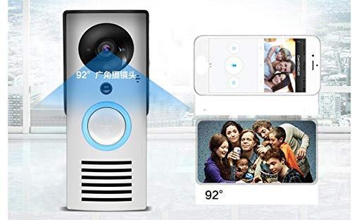 Interfono de vídeo con timbre para puerta, WiFi inteligente ...