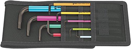 Wera 05022639001 L-key-Set for 950 SPKL/9 SZ ()