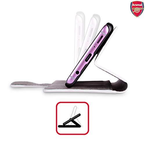 Pour Fc Samsung Effacer De Coque Arsenal Officiel 17 Crête 2016 Galaxy Étui S9 En Cuir Livre 7q4Wxn5