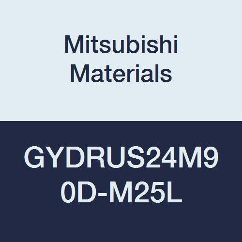 Right Hand 1.500 Height 6.000 Length 90/° Angle Mitsubishi Materials GYDRUS24M90D-M25L Series GY Modular Type Internal Grooving Holder with Left Hand M25 Modular Blade 2.500 Neck 1.500 Width