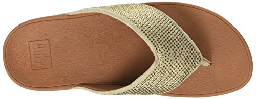Bout Ritzy gold Femme Toe Ouvert thong Mix Fitflop Or Sandals 1IZOqpWw