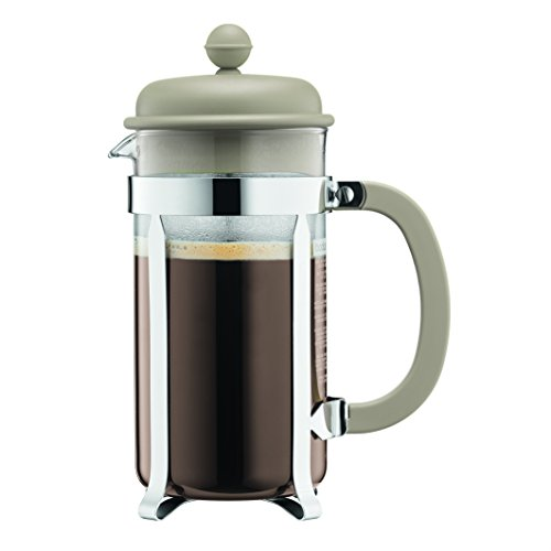 Bodum 1918-133B Caffettiera Coffee Maker, 8 Cup/1.0 L/34 oz, (Bodum Pot)