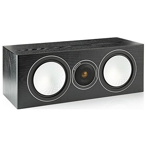 Monitor Audio Silver Centre - Caixa acústica central 2-vias 150w RMS para Home Theater Preto