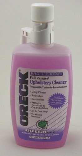 Oreck and Regina Professional Full Release Upholstery Cleaner