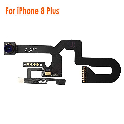 Johncase 7MP OEM Front Facing Camera Module w/Proximity Sensor + Microphone Flex Cable Replacement Part Compatible iPhone 8 Plus 5.5