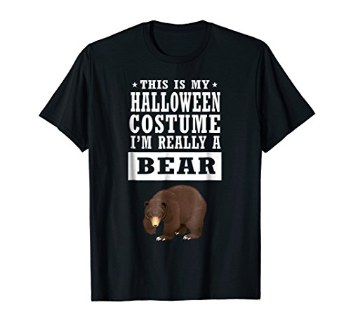 Bear Halloween Costume T-shirt This Is My Costume