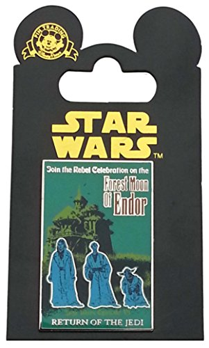 Disney Pin - Star Wars Poster - Forest Moon of Endor - Return of the Jedi (Episode VI)
