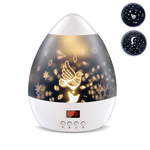 Starry Sky Night Lamp for Kids Gifts for 3 4 5 6-12 Year Old Girls Baby Star Projector Night Light with Timer Rotating…
