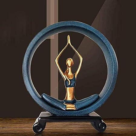 Puruitai Yoga Poses Figuras, Estatuas de Yoga Girl ...