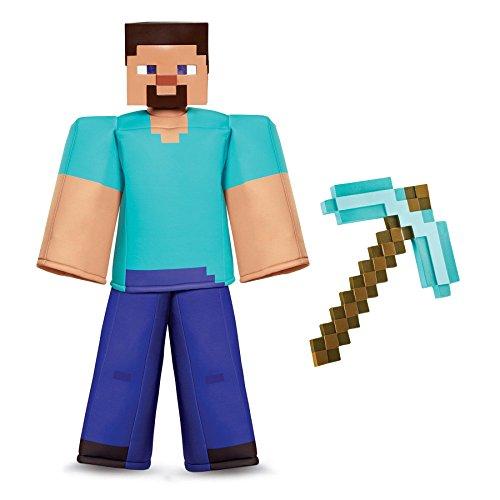 Minecraft Steve with Pick Axe Prestige Child Costume Kit (Steve Halloween Costume)