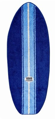 Blue and Yellow Surfboard Shaped Rug 44