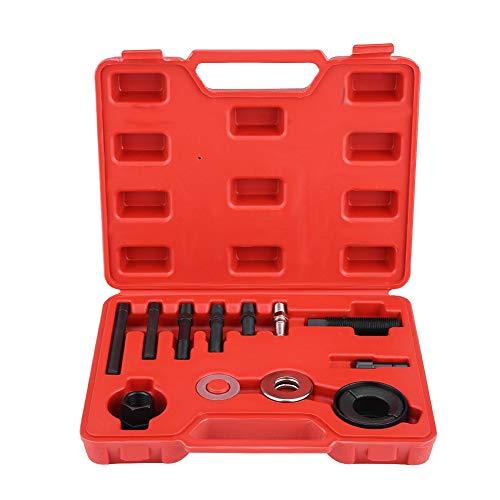 - 12pcs Pulley Puller Remover & Installer Tool Kit for GM Chrysler Ford Power Steering Alternators