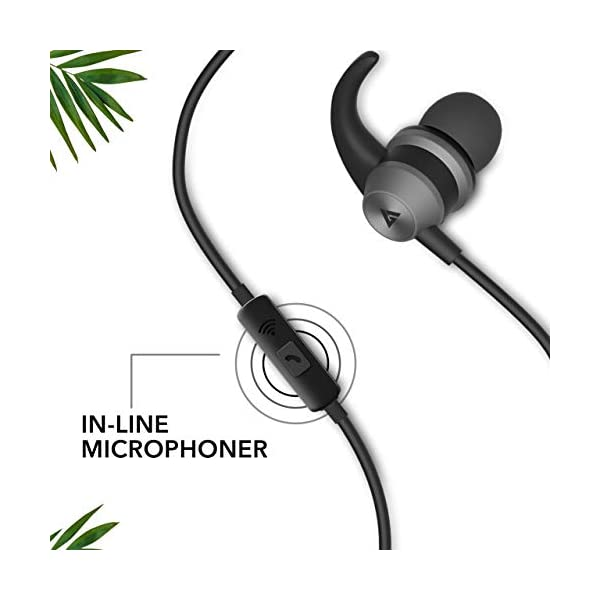41gFfzpwM2L Boult Audio BassBuds X1 in-Ear Wired Earphones with Mic and 10mm Powerful Driver for Extra Bass and HD Sound (Black)