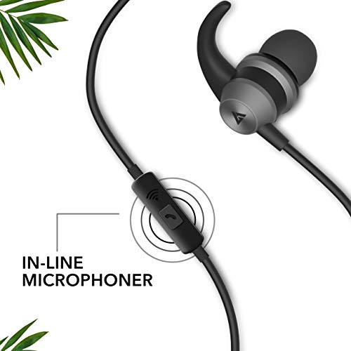 Boult Audio BassBuds X1 in-Ear Wired Earphones with mic