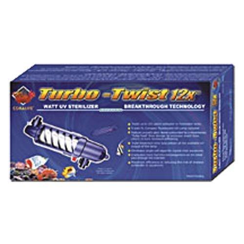 Coralife 77072 12X Turbo Twist UV (Turbo Twist Sterilizer)