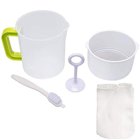 Amazon.com: Colador de leche de nuez y yogurt griego – Juice ...