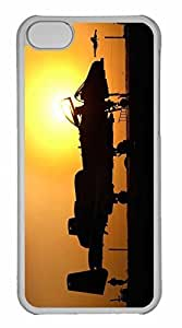 iPhone 5C Case, Personalized Custom War Airplane 98 for iPhone 5C PC Clear Case