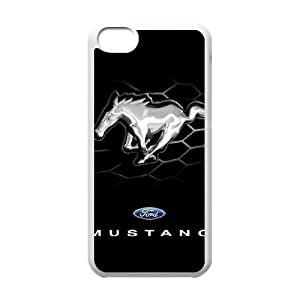 Mustang iPhone 5c Cell Phone Case White xlb-134796