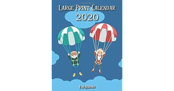 Amazon.com: Large Print Calendars for Seniors 2020: Visually ...
