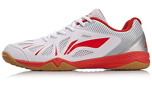 ebf24044ca0 LI-NING Women Whirlwind Table Tennis Shoes National Team Sponsor Wearable  Breathable Lining Sports Shoes Sneakers Red APTM004 US 7.5