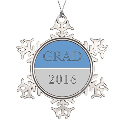 Metal Ornaments Xmas Trees Decorated Grads Picture Snowflake Ornaments