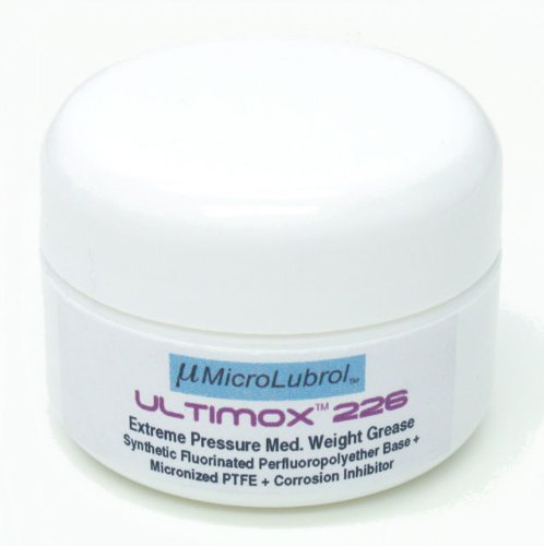 MicroLubrol Ultimox 226 Perfluoropolyether PFPE PTFE Grease Auto O2 205 206 226, 40g - Seals Weatherstripping Hardtop