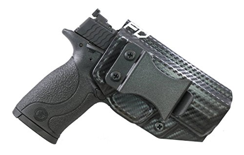 Fierce Defender IWB Kydex Holster S&W MP 22 Compact The Winter Warrior Series -Made in USA- (Carbon Fiber)