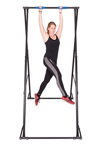 Portable Pull Up Bar Stand KT1.1518, Foldable Exercise Machine For Sciatica Pain Relief, Treat Herniated Disc, Height Adjustable, Very Sturdy Fitness Equipment, Light & Durable Gym Bar by Khanh Trinh