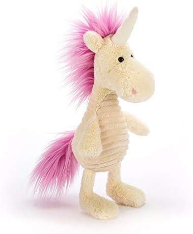 lliang Bambola Peluche Regalo di Cavallo Animale per Bambole di Peluche di Unicorno di Peluche di Unicorno di 35 cm Peluche