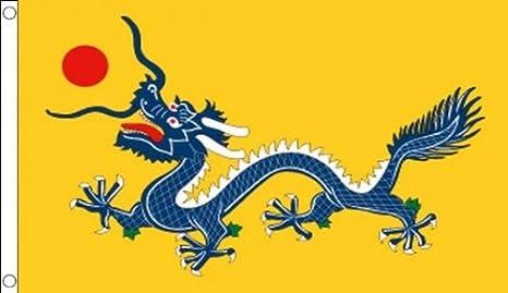 152,4 cm x 91,44 cm (150 x 90 cm) dragón chino China 100% Material ...