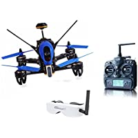 Walkera F210 3D Racing Drone Quadcopter with OSD / 700TVL Camera DEVO 7 Transmitter with Goggle2 Glasses - High Version