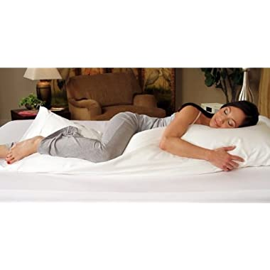 20 x 60  Body Pillow - Extra Large - Recommended for People 5'10  and Taller - Exclusively by Blowout Bedding RN# 142035