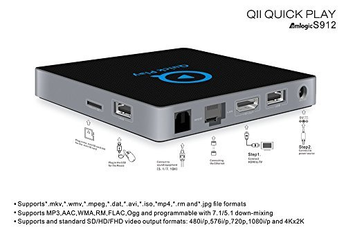 Pigflytech QⅡ Android TV Box Smart TV Box&DTV Converter TV Box by Pigflytech (Image #3)
