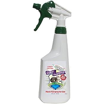 Amazon Com Cat Flea Spray Cedar Bug Free Flea And Tick