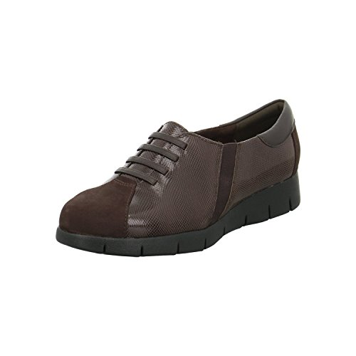 CLARKS Daelyn Vista dark brown leather slipon