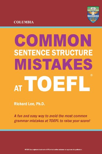 Download Columbia Common Sentence Structure Mistakes at TOEFL Pdf
