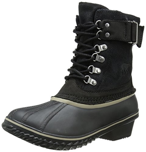 Sorel Women's Winter Fancy Lace II Cold Weather Boot, Bla...