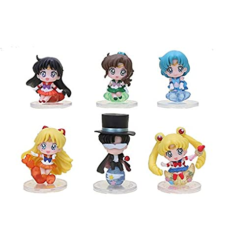 Allegro Huyer 6 Piezas/Lote Anime Sailor Moon Tsukino Usagi ...