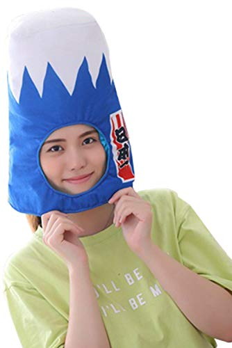 Funny Plush Animal Hat Cap Party Gift Halloween Costume Christmas Novelty Party Dress up Cosplay Japanese Anime Mount Fuji Cap