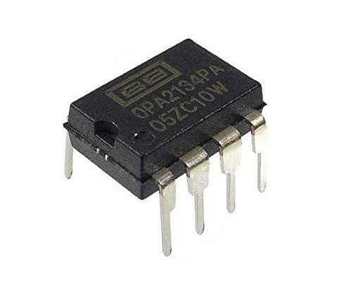 Speed Op Amp - Burr Brown OPA2134PA OPA2134 - Dual HiFi Audio OpAmp (Pack of 1)