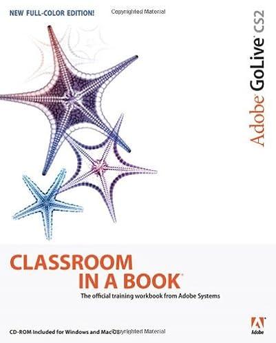 adobe golive cs2 classroom in a book adobe creative team rh amazon com Adobe Creative Suite adobe indesign cs2 manual