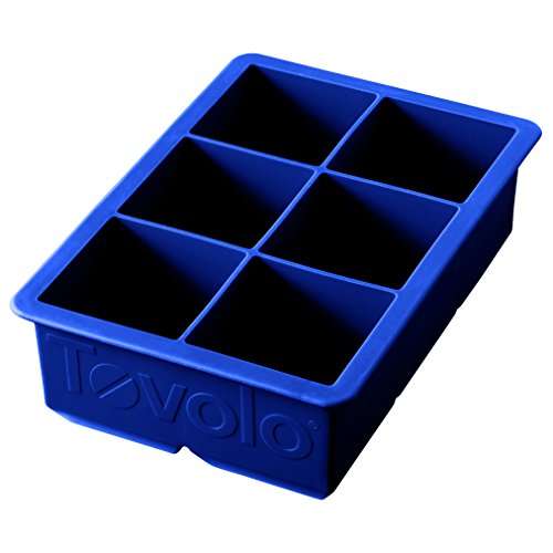 Tovolo King Cube Ice Mold Tray, Long Lasting Sturdy...