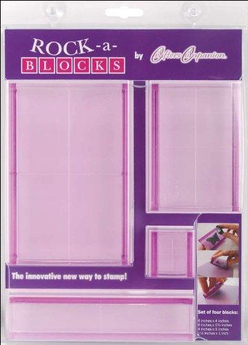 - Crafter's Companion Rock-A-Blocks Stamping Block Set 4/Pkg