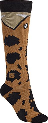 Burton Super Party Snowboard Sock - Womens 2016, Python, M/L by Burton