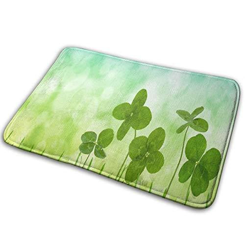 FunnyCustom Doormat March Newsletter for Seniors Designer Non Slip Water Absorption Bath Rugs for Bathroom -